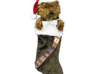 Star Wars Chewbacca Plush Head Stocking