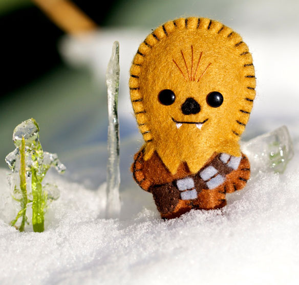 Star Wars Chewbacca Pocket Plush Toy