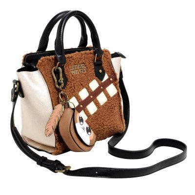 Star Wars Chewbacca & Porg Sherpa Handbag