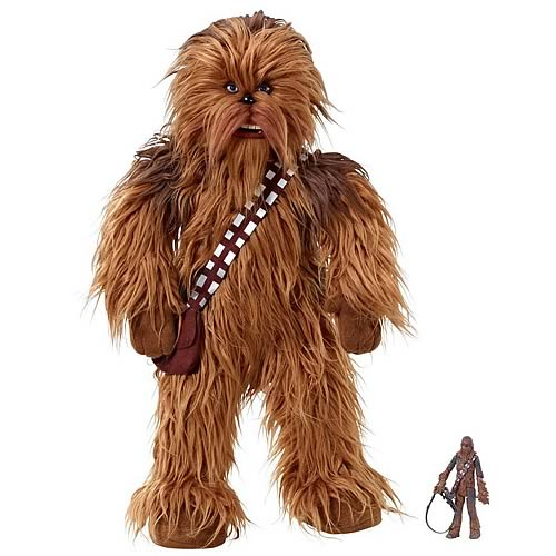 star wars chewbacca talking plush. Black Bedroom Furniture Sets. Home Design Ideas