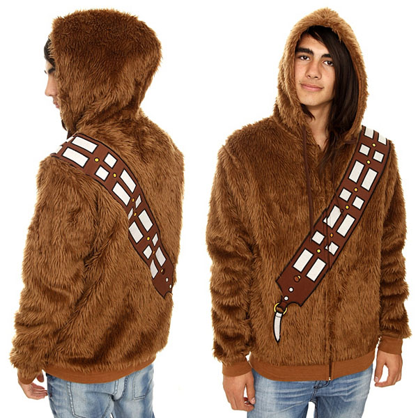Tag Steescom GeekAlerts Page - Hoodie will turn you into chewbacca from star wars