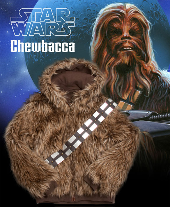 Star Wars Chewy Coat by Marc Ecko