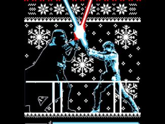 Star Wars Christmas Duel T-Shirt