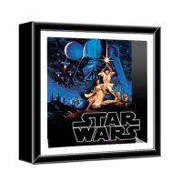 Star Wars Classic Art Wood Shadow Box