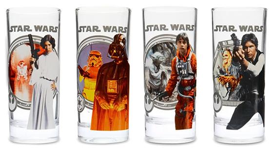 Star Wars Classic Drinking Glasses Set