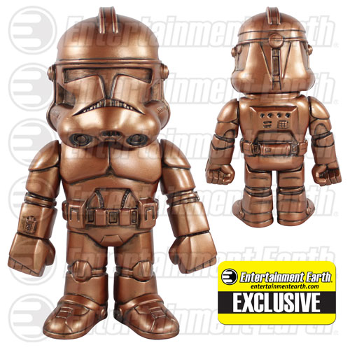 Star Wars Clone Trooper Dirty Penny Version Hikari Sofubi Vinyl Figure