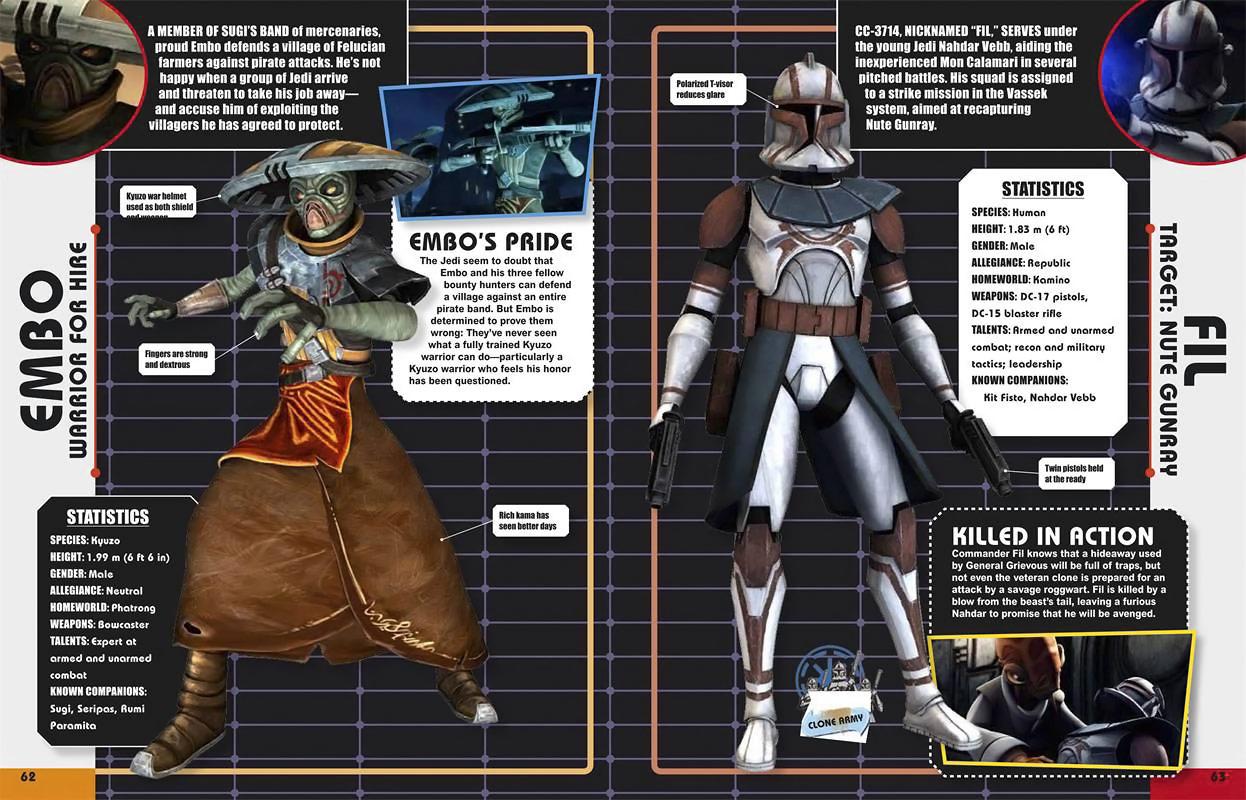 star wars clone wars character encyclopedia � geekalerts