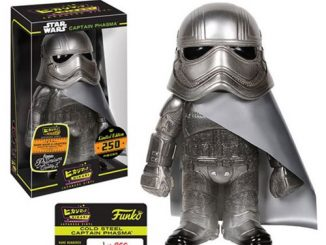 Star Wars Cold Steel Captain Phasma Hikari Sofubi Vinyl Figure