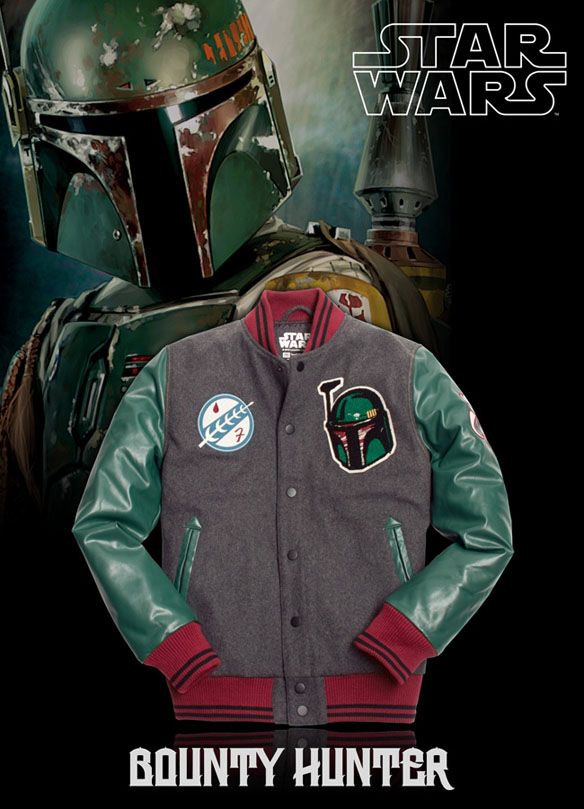 Star Wars Colored Boba School Jacket