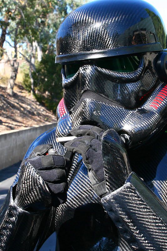 Star Wars Custom Carbon Fiber Suit