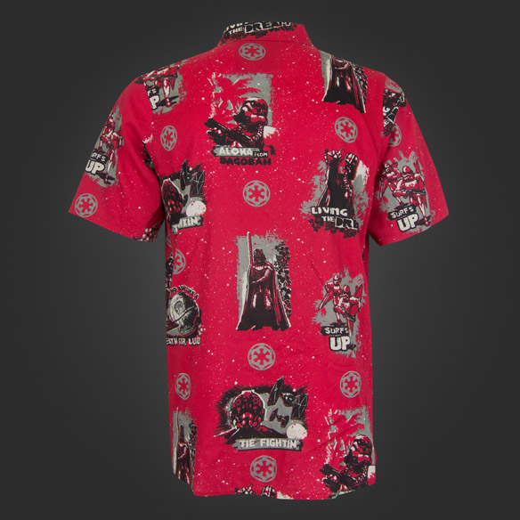 Star Wars Dark Side Aloha Shirt back