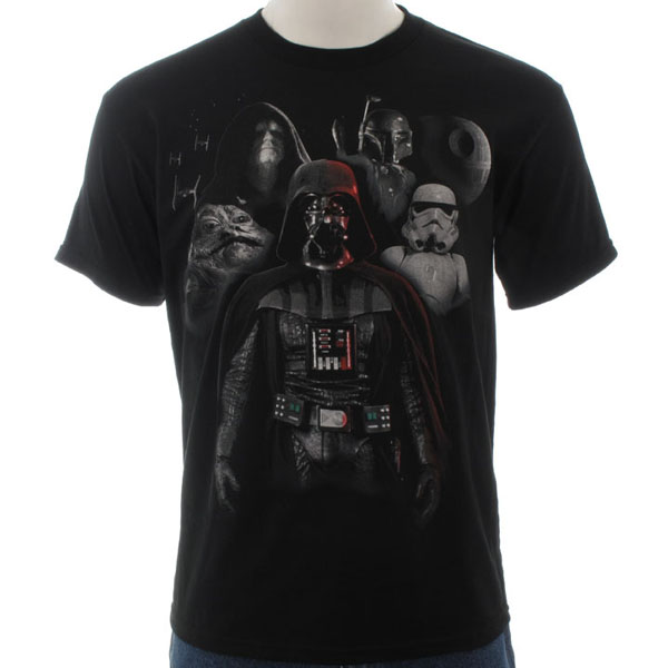 Star Wars Dark Side Group T-Shirt