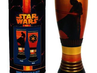 Star Wars Darth Vader 20 oz. Hand Painted Pilsner Glass