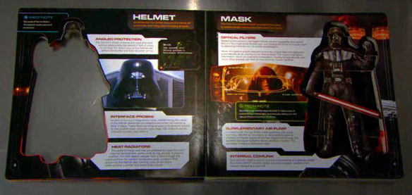 Star Wars Darth Vader 3D Book