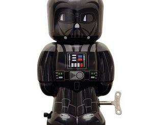 Star Wars Darth Vader 7 1 2-Inch Wind-Up Tin Toy
