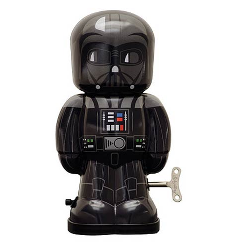 Star Wars Darth Vader 7 1 2-Inch Wind-Up Tin Toy