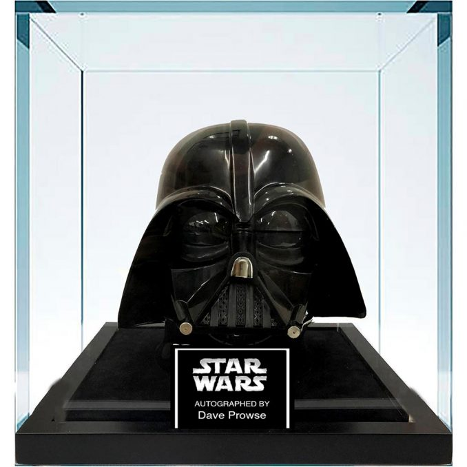 Star Wars Darth Vader Autographed Helmet