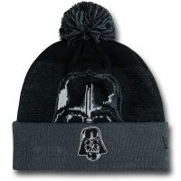Star Wars Darth Vader Big Face Pom Pom Beanie