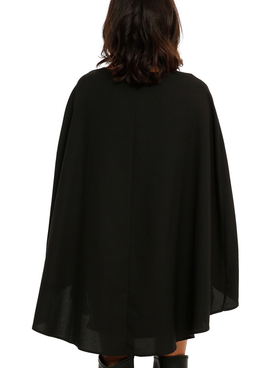 Star Wars Darth Vader Cape Dress back