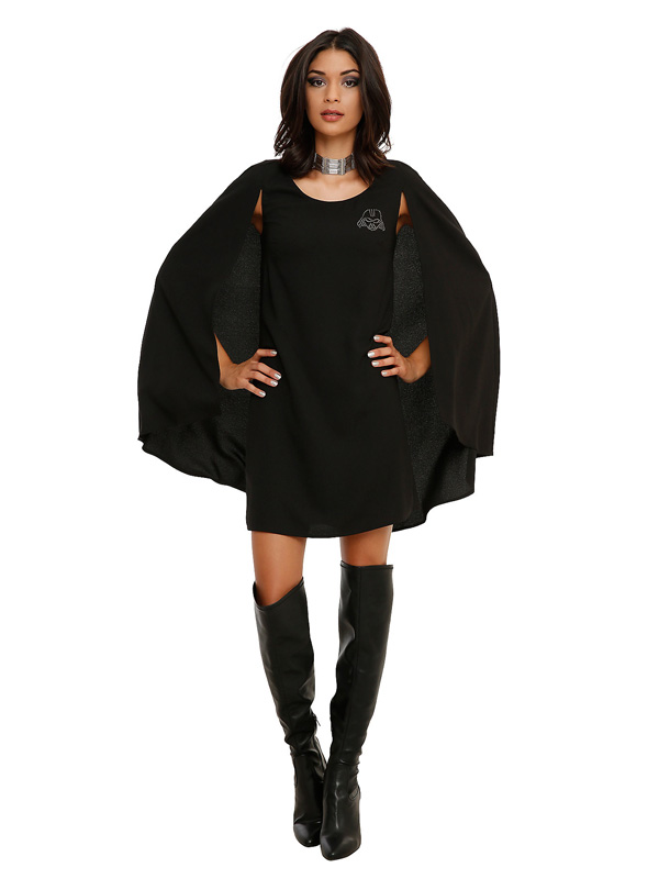 Star Wars Darth Vader Cape Dress