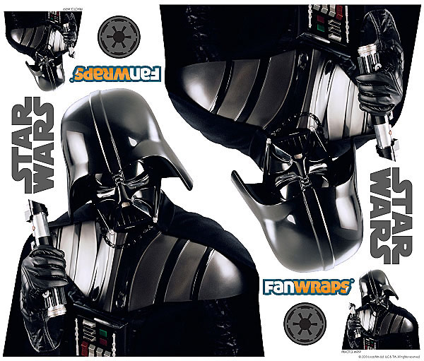 Star Wars Darth Vader Car Graphics