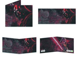 Star Wars Darth Vader Contemplating Mighty Wallet