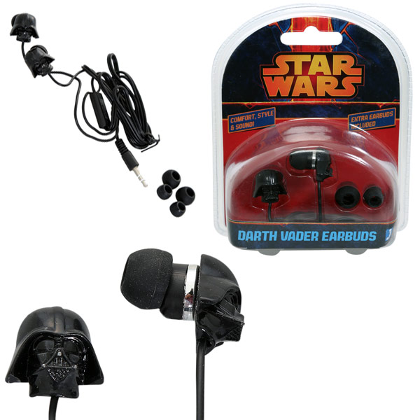 Star Wars Darth Vader Earbuds