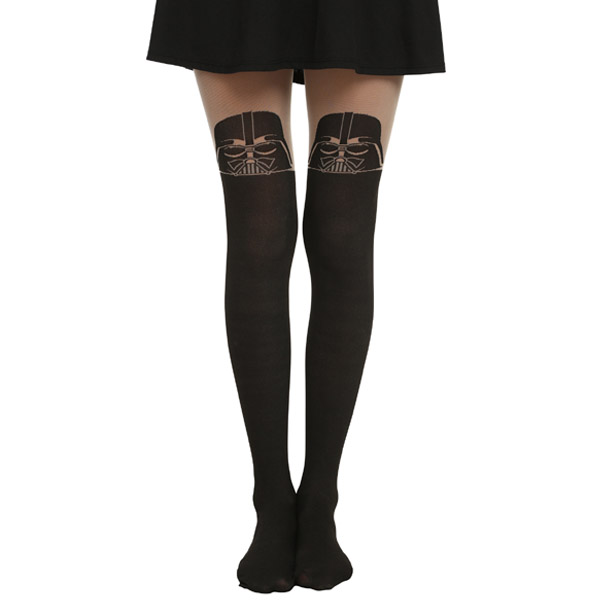 Star Wars Darth Vader Faux Thigh-High Tights