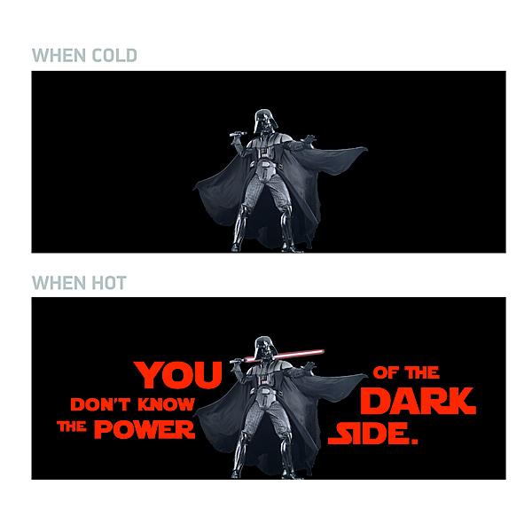 Star Wars Darth Vader Heat Change Mug