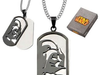 Star Wars Darth Vader Layered Dog Tag Necklace