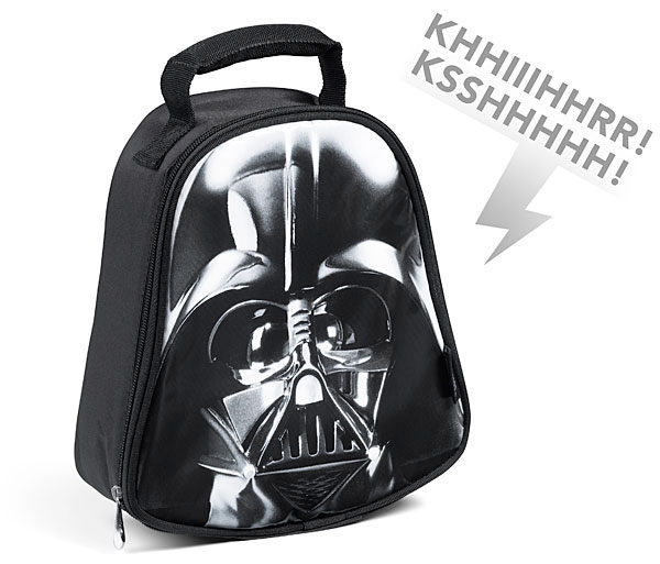 Star Wars Darth Vader Lunch Bag with Sound