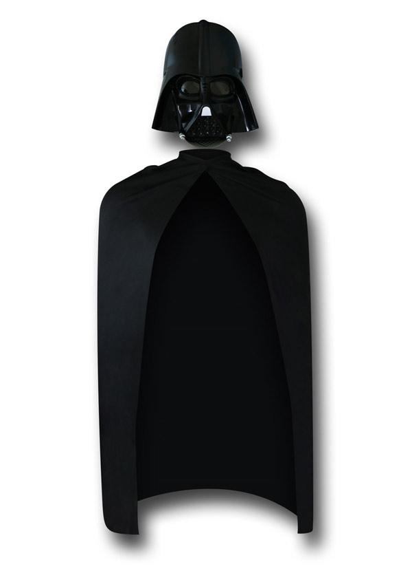 Star Wars Darth Vader Mask and Cape Set