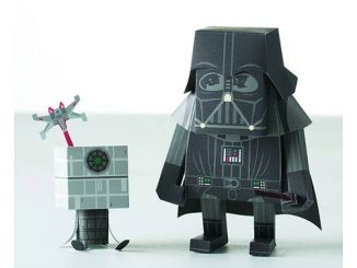 Star Wars Darth Vader Momot Papercraft Figure Kit