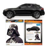 Star Wars Darth Vader Passenger Series Car Decal