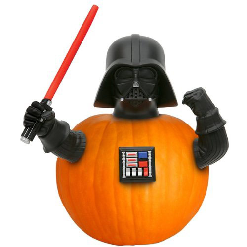 Star Wars Darth Vader Pumpkin Push Ins
