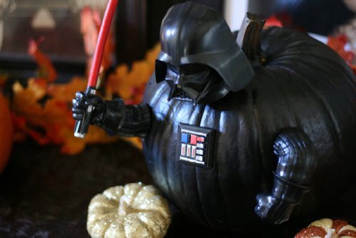 Star Wars Darth Vader Pumpkin PushIns