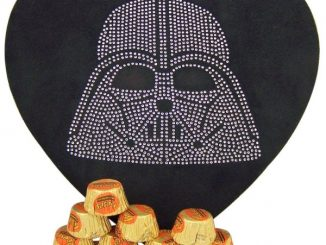 Star Wars Darth Vader Rhinestone Heart Shaped Candy Box