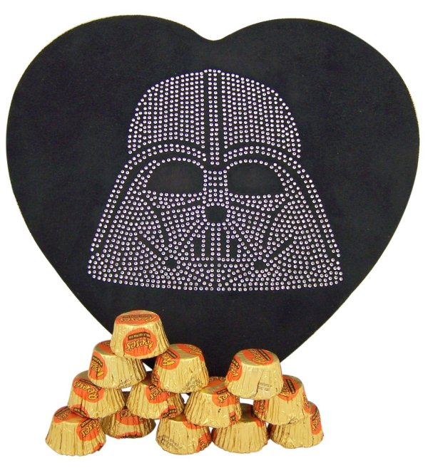 Star Wars Darth Vader Heart Shaped Candy Box