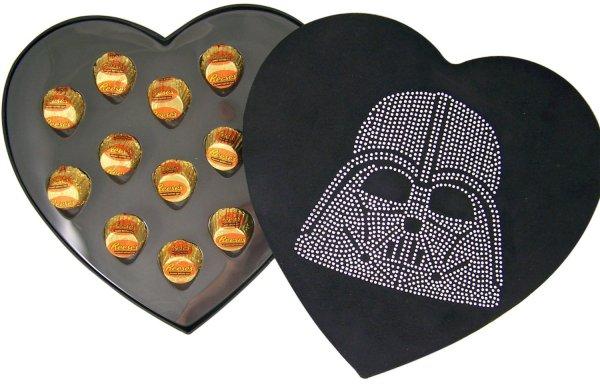 Star Wars Darth Vader Rhinestone Heart Shaped Candy Box