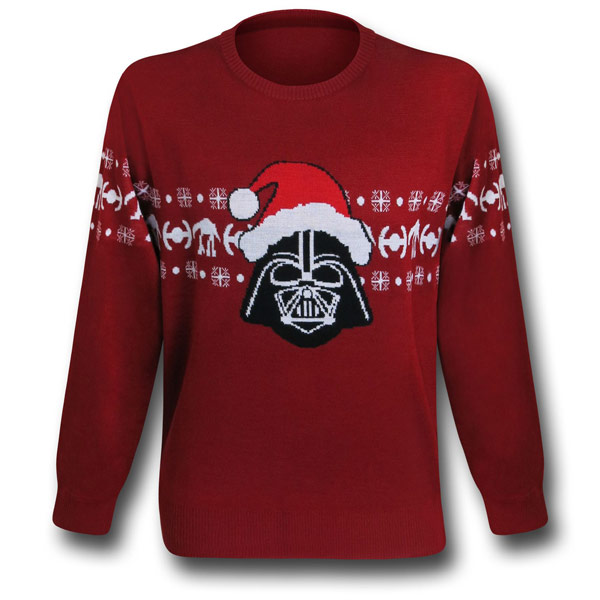 Star Wars Darth Vader Santa Christmas Sweater Sweatshirt