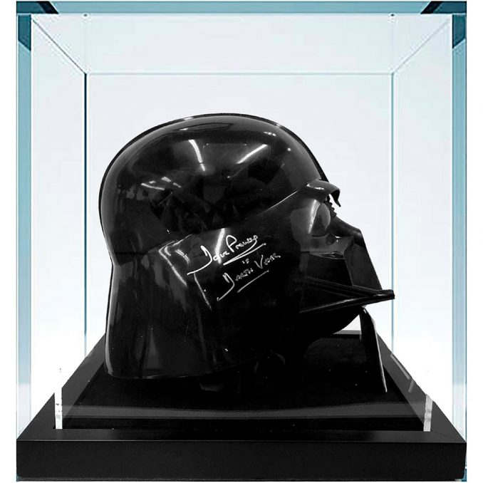 Star Wars Darth Vader Signed Helmet
