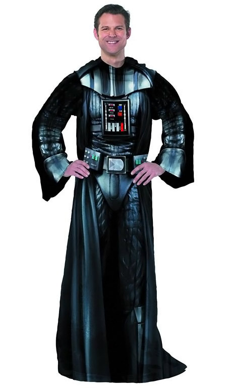 Star Wars Darth Vader Fleece Blanket With Sleeves