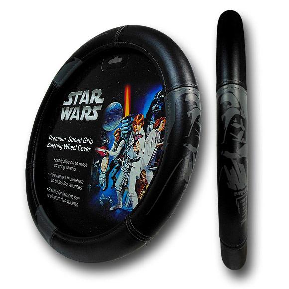 Star Wars Darth Vader Steering Wheel Cover