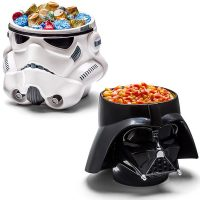 Star Wars Darth Vader & Stormtrooper Candy Bowls