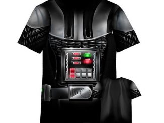 Star Wars Darth Vader Sublimated Costume T-Shirt