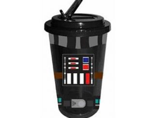 Star Wars Darth Vader Uniform 16 oz. Flip-Straw Travel Cup