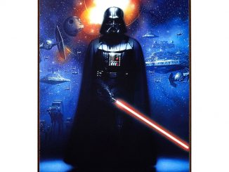 Star Wars Darth Vader Wood Wall Art