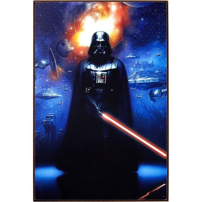 Star Wars Darth Vader Wood Wall Art