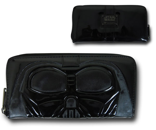 Star Wars Darth Vader Lines Women's Zipper Wallet