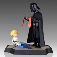 Star Wars Darth Vader and Son Maquette Side